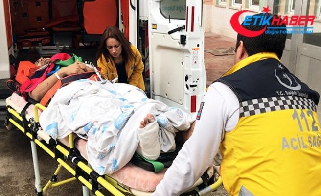 Hastaneden kaçmak isterken 3'üncü kattan düşen Pakistanlı, ağır yaralandı