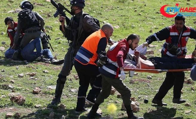 İsrail askerleri üniversite öğrencilerine müdahale etti: 8 yaralı