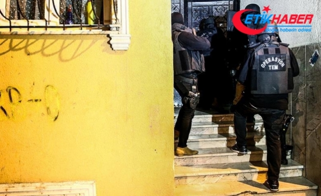 İstanbul'da 8 ilçede terör örgütü PKK'ya yönelik operasyon düzenlendi