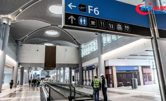 İstanbul Yeni Havalimanı'nda ticari alanlara büyük ilgi