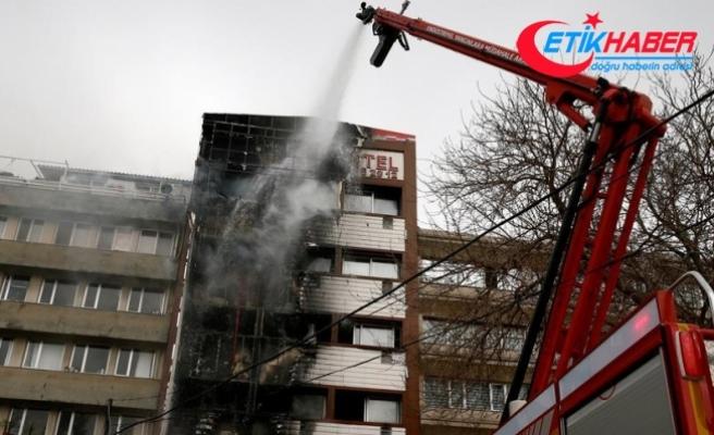 İzmir'de yanan otelin dış cephe kaplaması kaçak çıktı