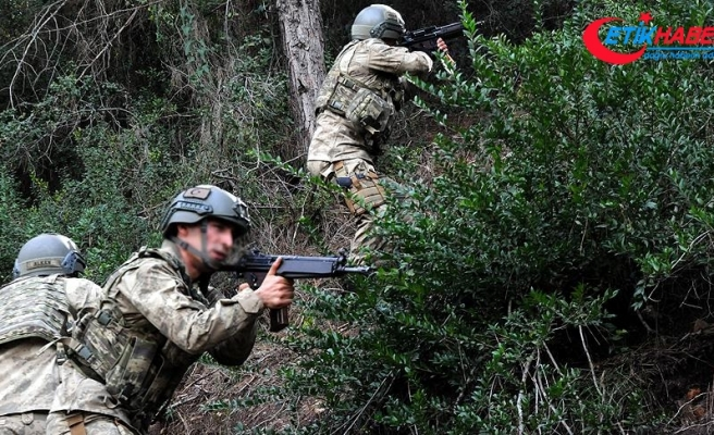 Jandarma 1601 teröristi etkisiz hale getirdi