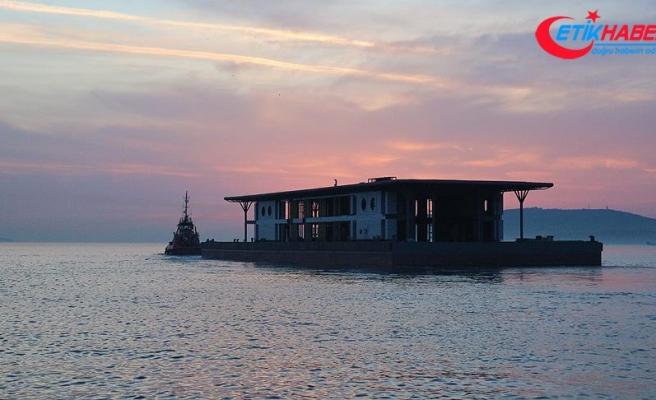 Karaköy'ün yeni iskelesi Tuzla'dan yola çıktı