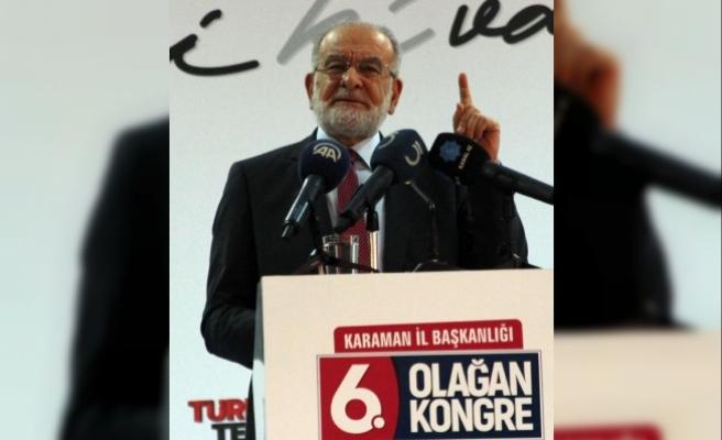 Karamollaoğlu: 'Cumhur İttifakı'na katılın diyorlar; ben deli miyim ?