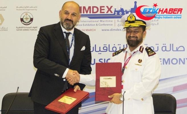 Katar donanmasına Türkiye'den 2 savaş eğitim gemisi