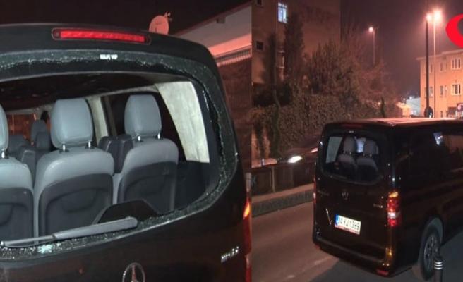 Küçükçekmece'de Uber aracına ateş açıldı