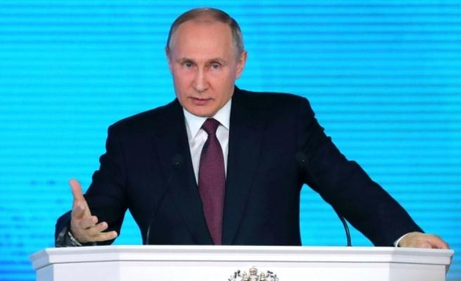 Putin mazbatasını aldı