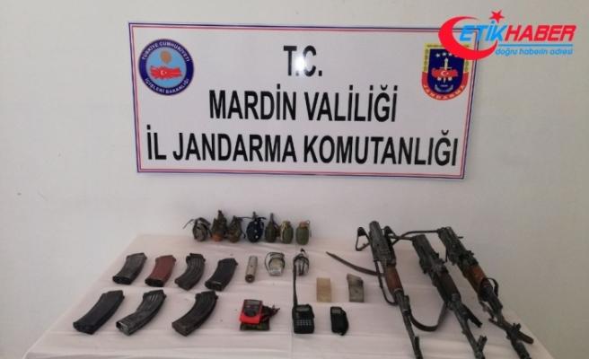 Mardin'de silah ve patlayıcı ele geçirildi