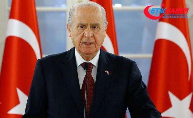 MHP Lideri Bahçeli'den İlham Aliyev'e kutlama mesajı