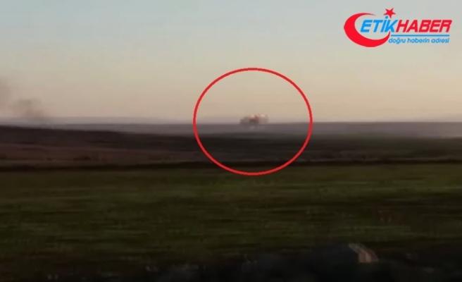 Muhalifler rejime ait savaş uçağını böyle düşürdü