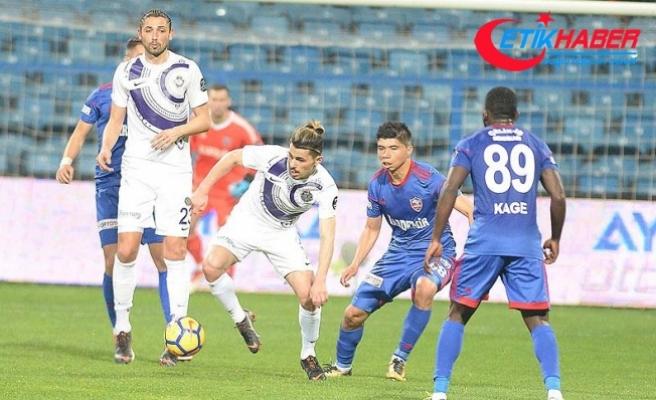Osmanlıspor, Kardemir Karabükspor'u farklı yendi