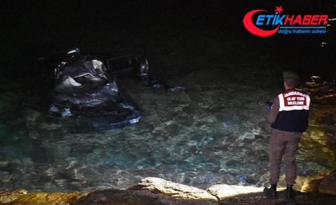 Otomobili denize devrilen Bodrum Belediye Başkan Yardımcısı hayatını kaybetti