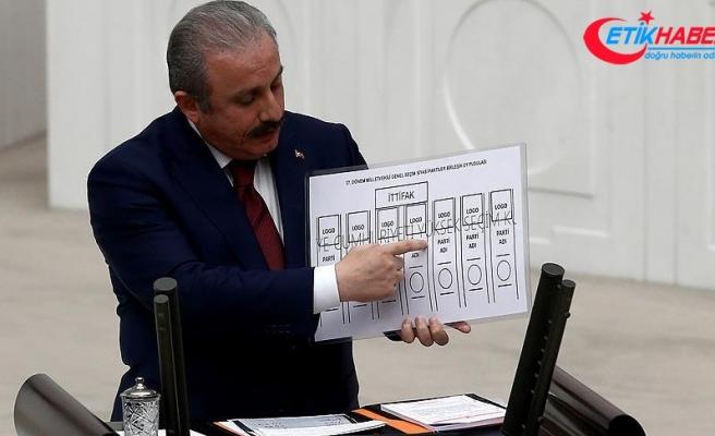 'Oy pusulasında siyasi partilere ayrılan sütunların hepsi eşit'
