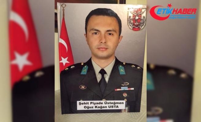Şehit Üsteğmen Usta'nın cenazesi 2 ay sonra Ankara'ya getirildi