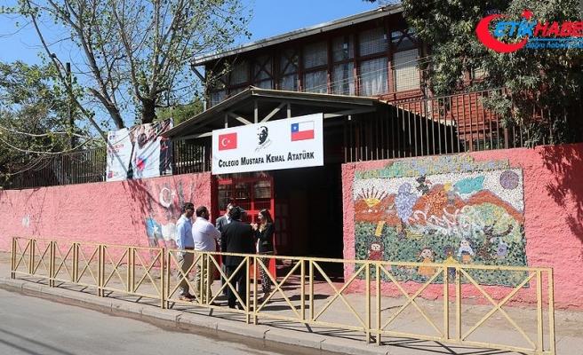 Şili'deki Mustafa Kemal Atatürk İlköğretim Okulu yenilendi