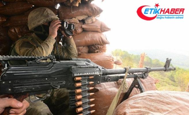 Sınır hattına saldıran 8 terörist etkisiz hale getirildi