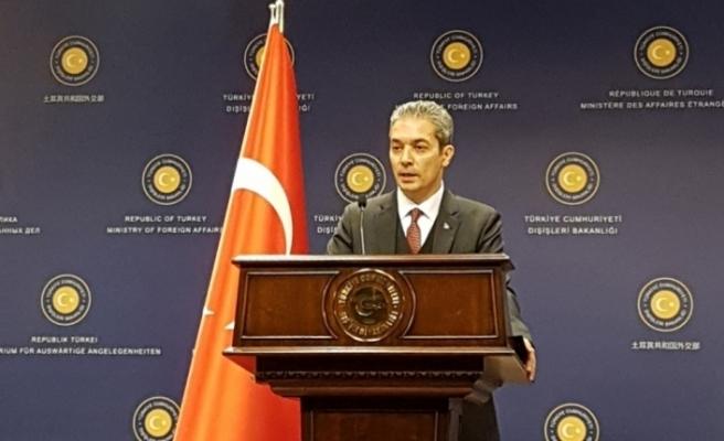 Dışişleri Bakanlığından Yunan Savunma Bakanının iddialarına tepki
