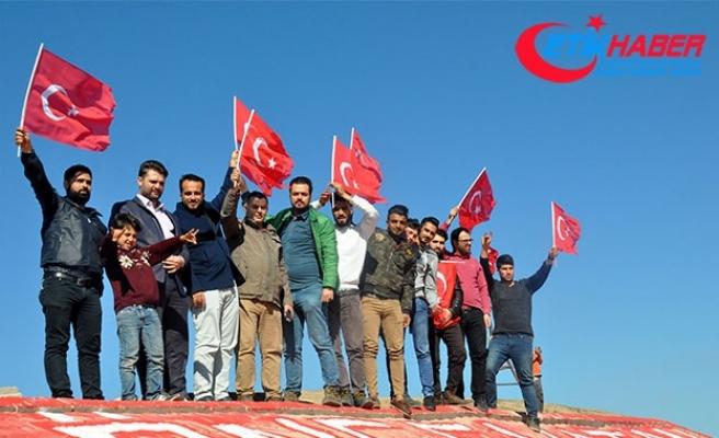 Suriyeli STK'lardan Mehmetçiğe teşekkür