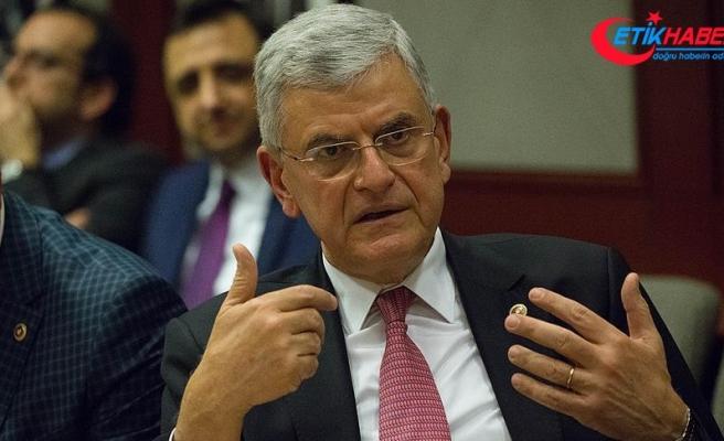 TBMM Dışişleri Komisyonu Başkanı Bozkır: ABD'nin YPG tercihi tamamen yanlış bir tercihtir