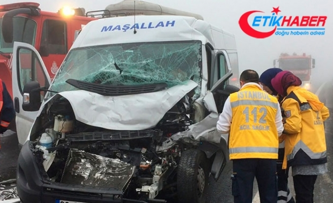 TEM'de sis kazası: 1 ölü