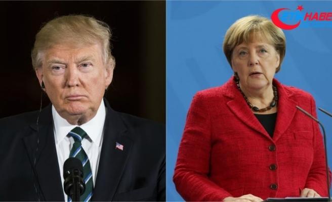 Trump ile Merkel'den 'İngiltere ile dayanışma' vurgusu