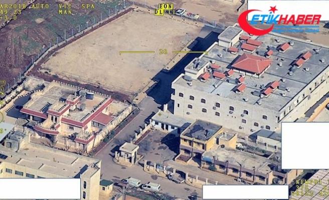 TSK Afrin'de vurulduğu iddia edilen hastanenin görüntülerini yayınladı