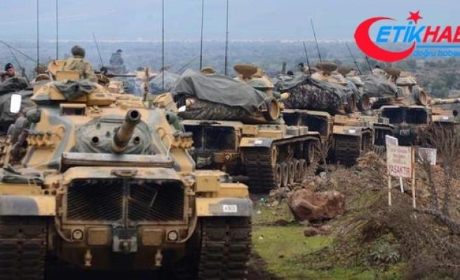 TSK ve ÖSO, Afrin'in Ayn Darah, Basutah ve Burj Abdallah köylerini teröristlerden temizledi