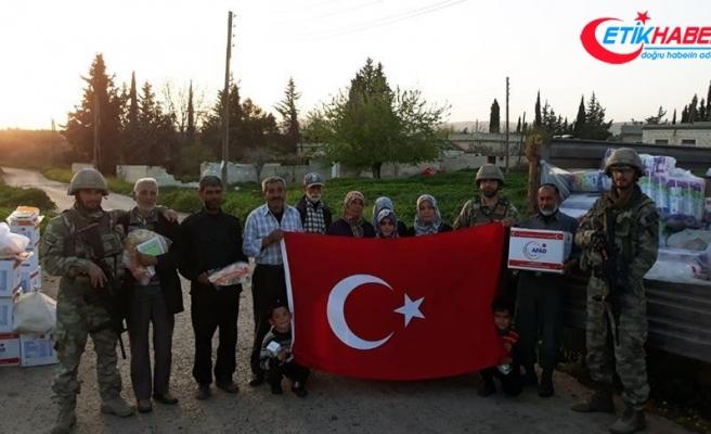 TSK'dan Afrin'in köylerine yardım