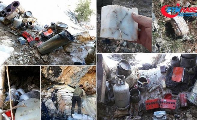 Tunceli'de terör örgütüne ait patlayıcı ve yaşam malzemesi bulundu