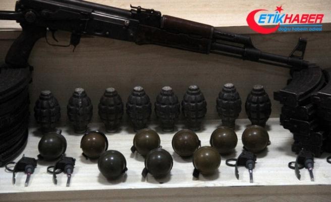Tunceli'de 9 sığınak içinde silah ve mühimmat ele geçirildi