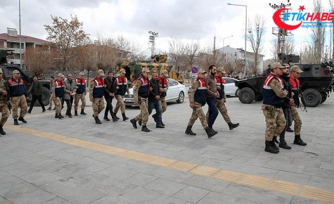 Van merkezli terör operasyonunda 24 tutuklama