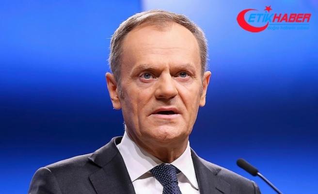 AB Konseyi Başkanı Tusk: AB, müttefiklerin, yani haklının yanında yer alacaktır
