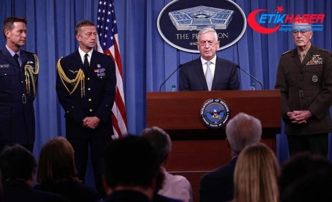 ABD Genelkurmay Başkanı Dunford: Suriye'ye ilk dalga saldırı sona erdi