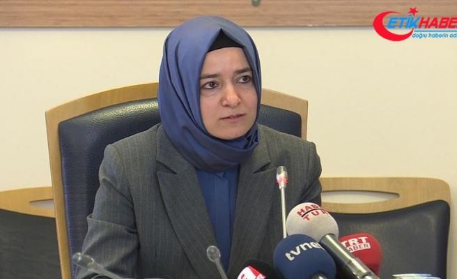Aile ve Sosyal Politikalar Bakanı Kaya: Birlikte geleceğin güçlü Türkiyesini kuracağız