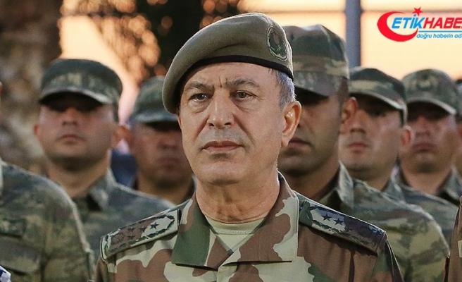 Genelkurmay Başkanı Akar, Amerikalı mevkidaşıyla Suriye'yi görüştü