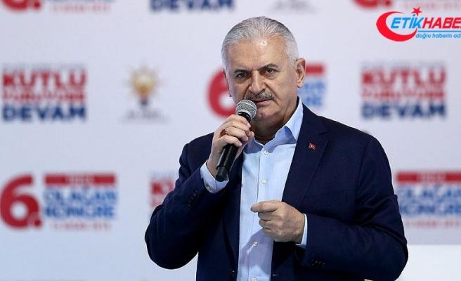 Başbakan Yıldırım: Alçak katillere verilmiş gecikmiş bir cevaptır