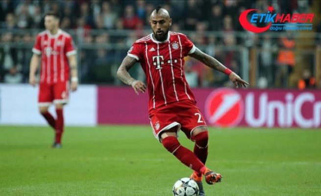 Bayern Münih'te Vidal sezonu kapattı