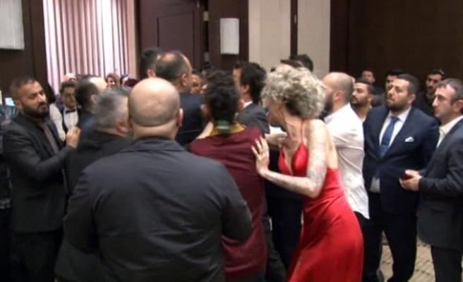 Berna Öztürk'e galada saldıran zanlı adliyeye sevk edildi