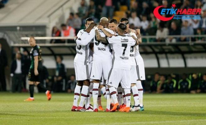 Beşiktaş deplasmanda kolay kazandı