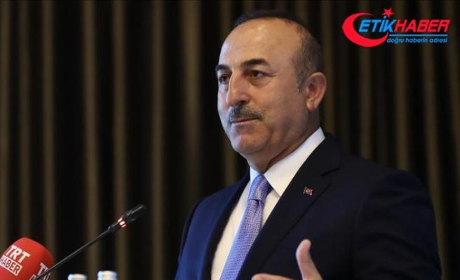 Çavuşoğlu: Suriye'yi bu rejimden kurtarmamız gerekiyor