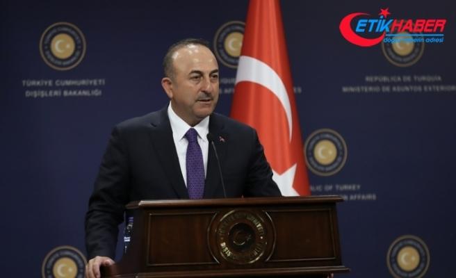 Çavuşoğlu: NATO'dan Terörle mücadelede daha fazla destek bekliyoruz