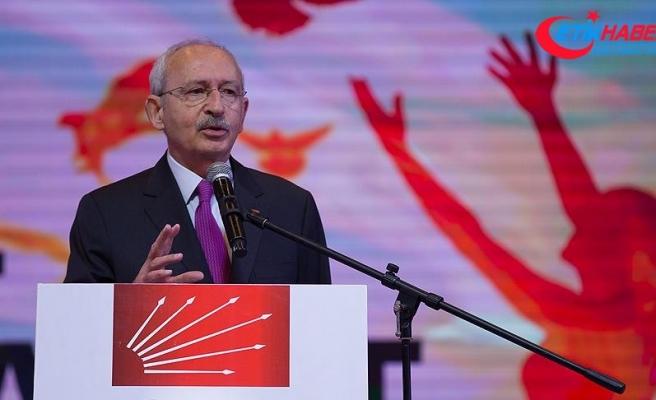 CHP Genel Başkanı Kılıçdaroğlu'ndan Suriye açıklaması