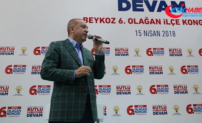 Cumhurbaşkanı Erdoğan: FETÖ'nün sosyal medya terörizmine asla boyun eğmedik