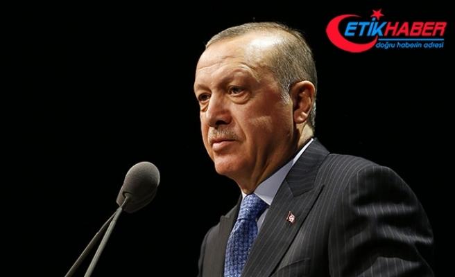 Cumhurbaşkanı Erdoğan: İsteselerde istemeselerde Kanal İstanbul'u yapacağız