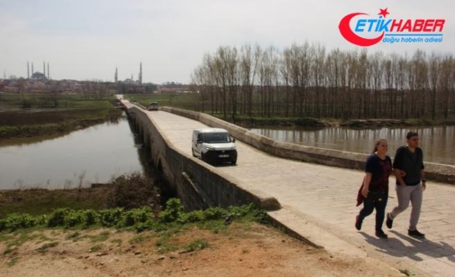 Edirne'de Tunca Nehri yatağına döndü