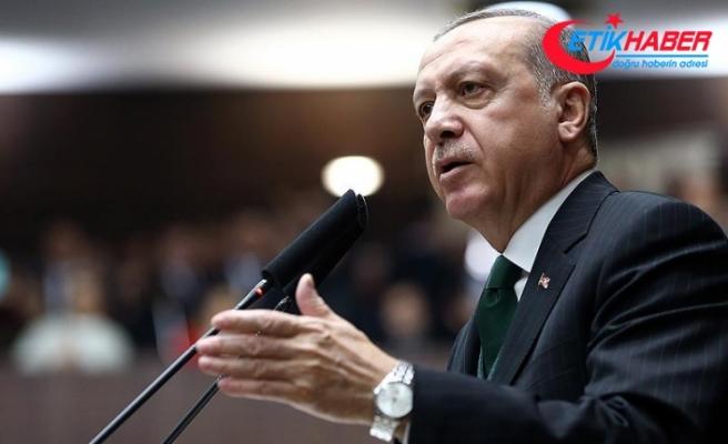 Erdoğan: Siz teröristlerin biz Mehmetçiğin parkasını ve postalını giyeriz