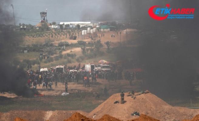 Gazze sınırında çatışma