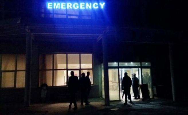 Güvenlik korucularını taşıyan minibüs kaza yaptı: 15 yaralı