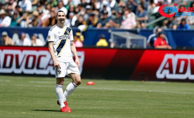 Ibrahimovic ABD'de ilk kez hat-trick yaptı