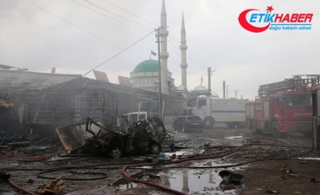 Iğdır Sanayi Sitesi'nde patlama: 3 ölü